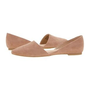 Shoes - 🎀Pointy Ballet Flat🎀 New NUDE Memory Foam
